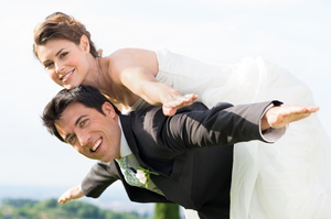 Bruiloft wens voor pas getrouwd stel